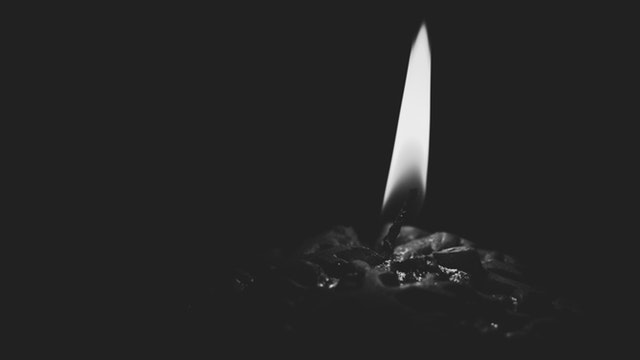 Flash fiction candle Kylie Fennell