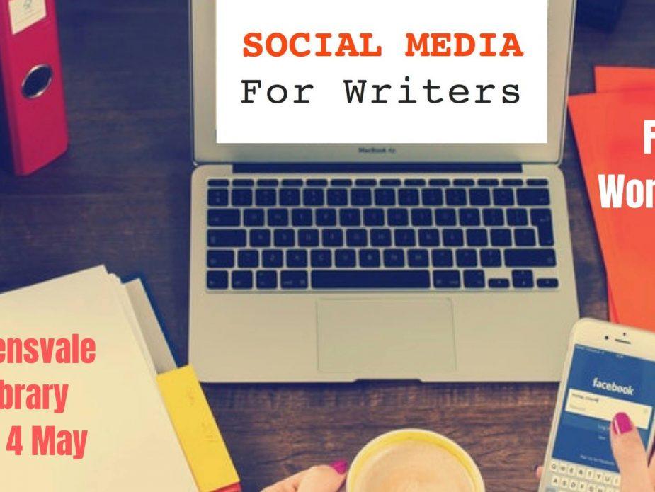 social media for writers workshop
